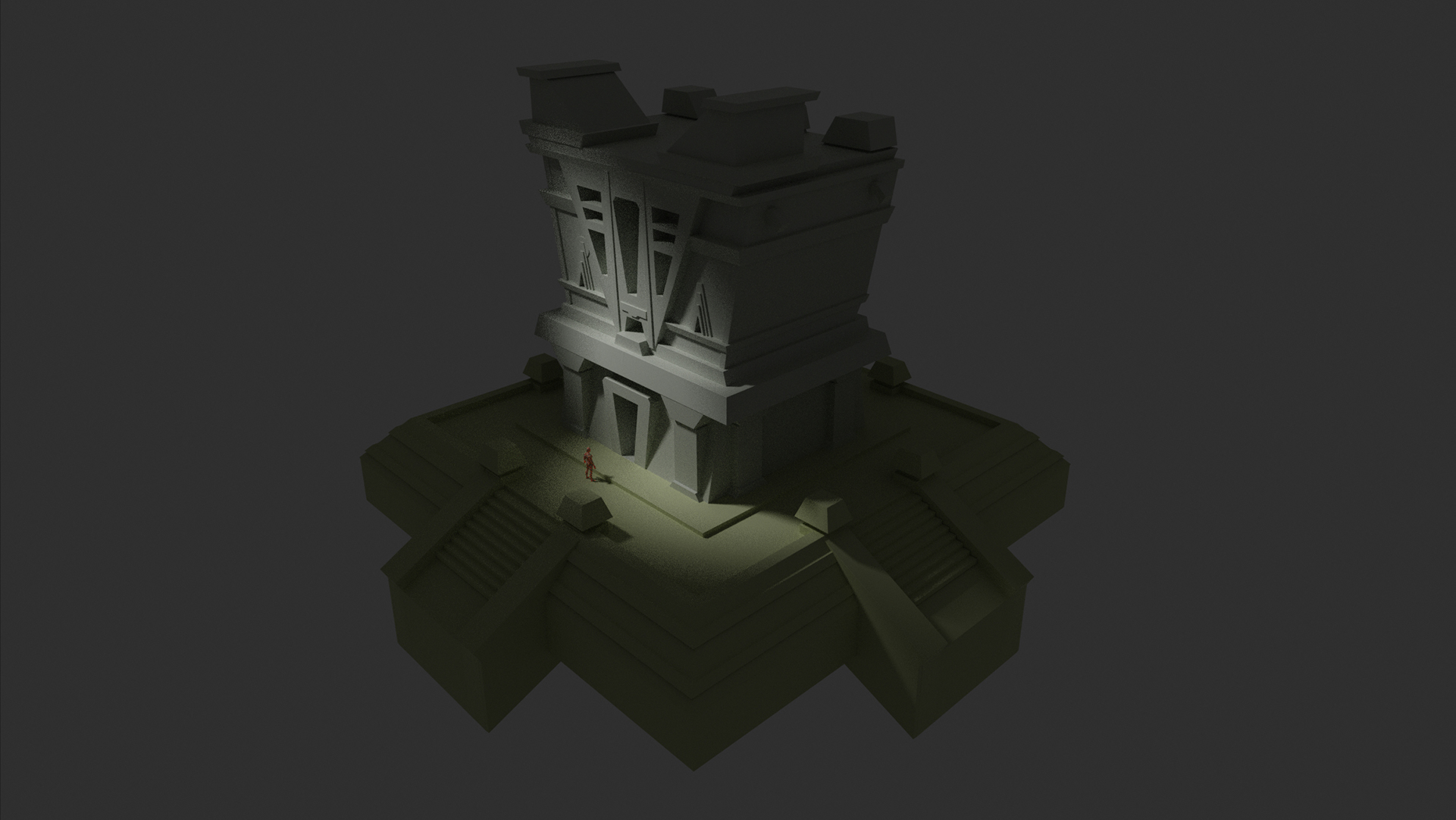 042419_Temple facade Model Render