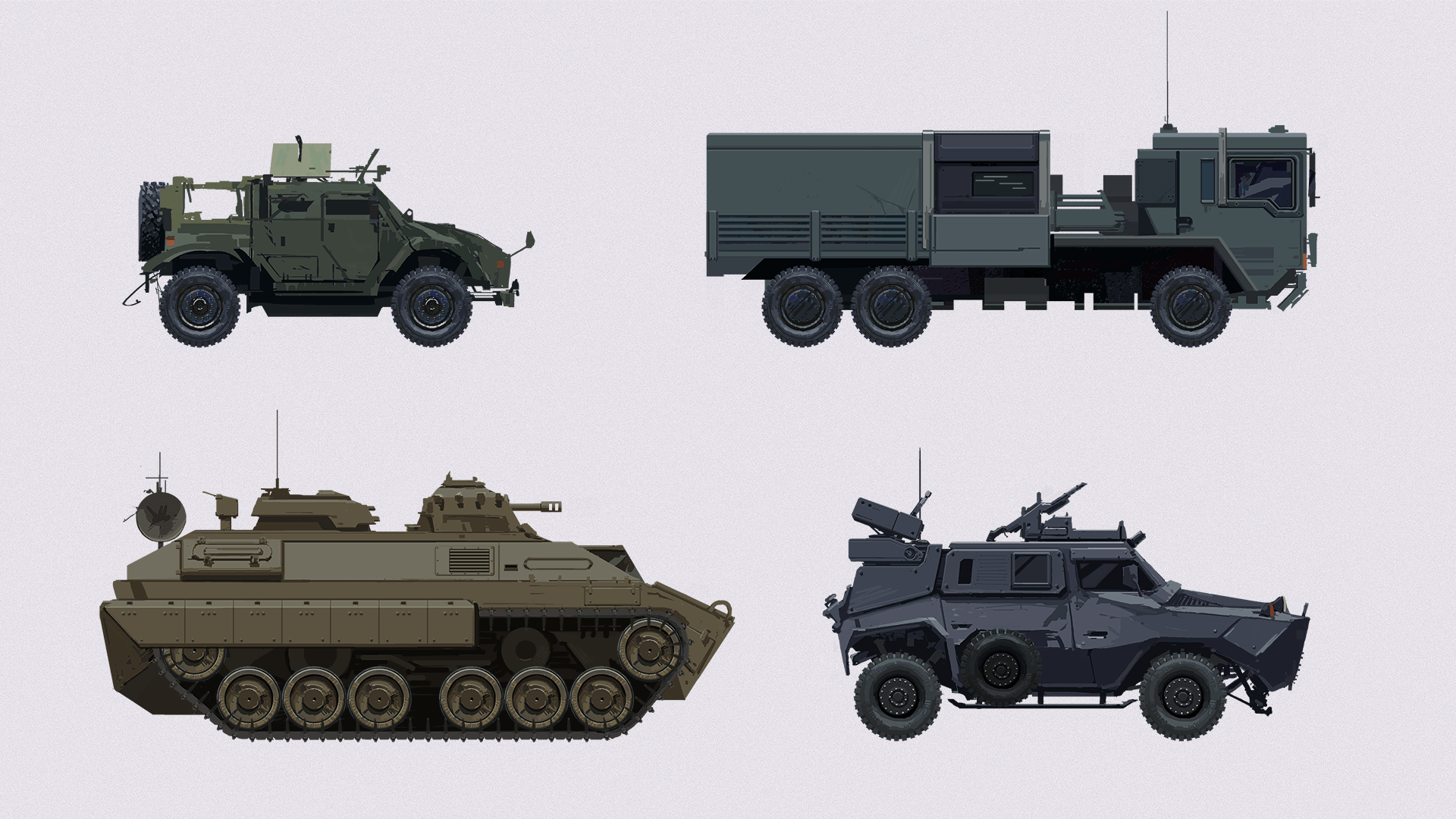 Military Vehicle Designs